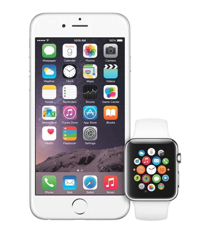 iPhone6PlusとApple WATCH